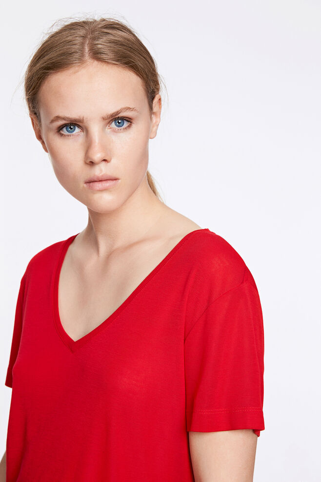 Siff v-neck 6136, RACING RED