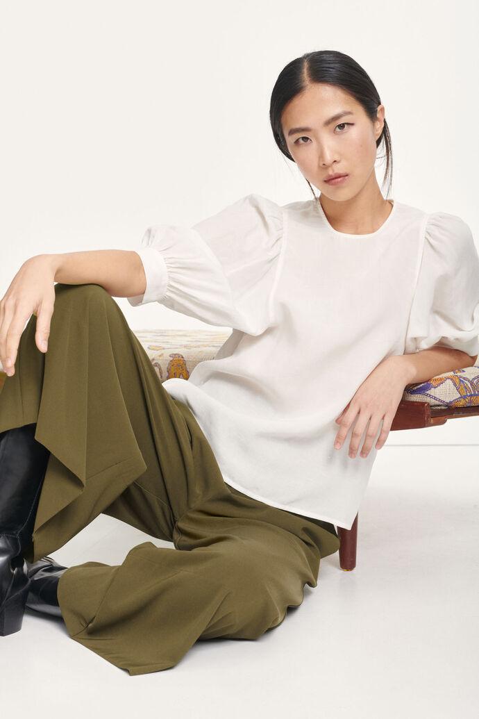 Celestine blouse 12771, WHISPER WHITE