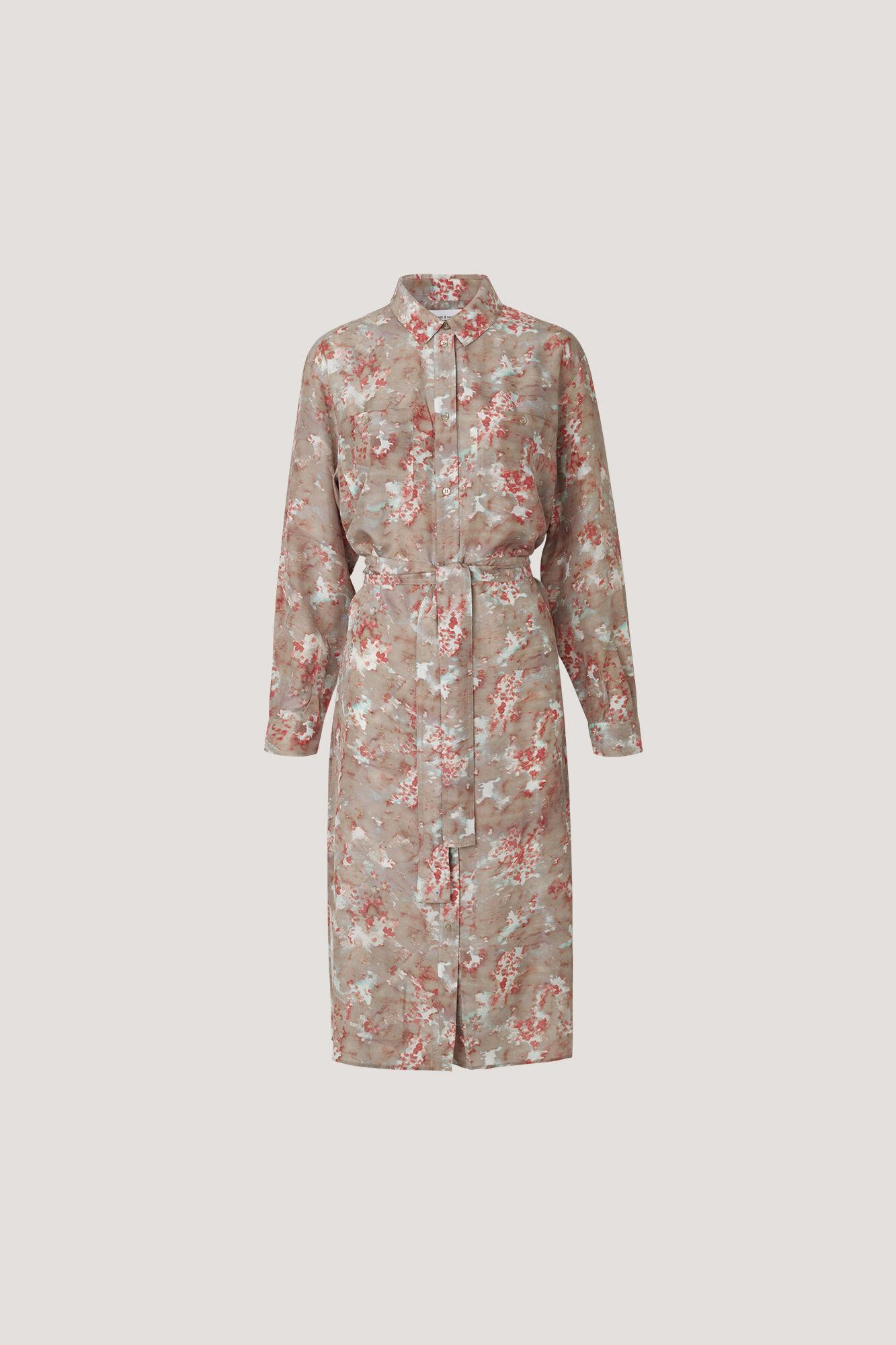 Cora shirt dress aop 10756