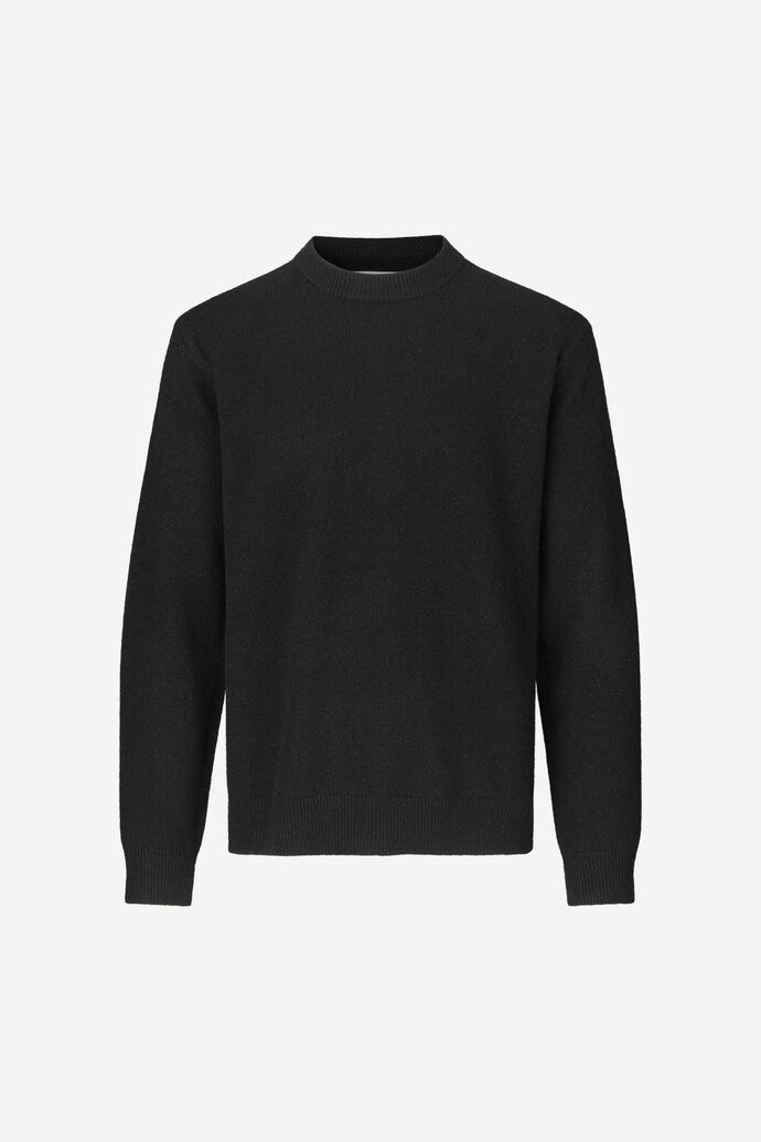 Viktor crew neck 12758, BLACK