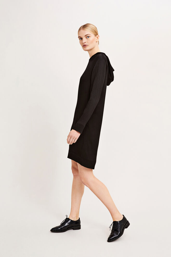 Madrone ls dress 9320, BLACK