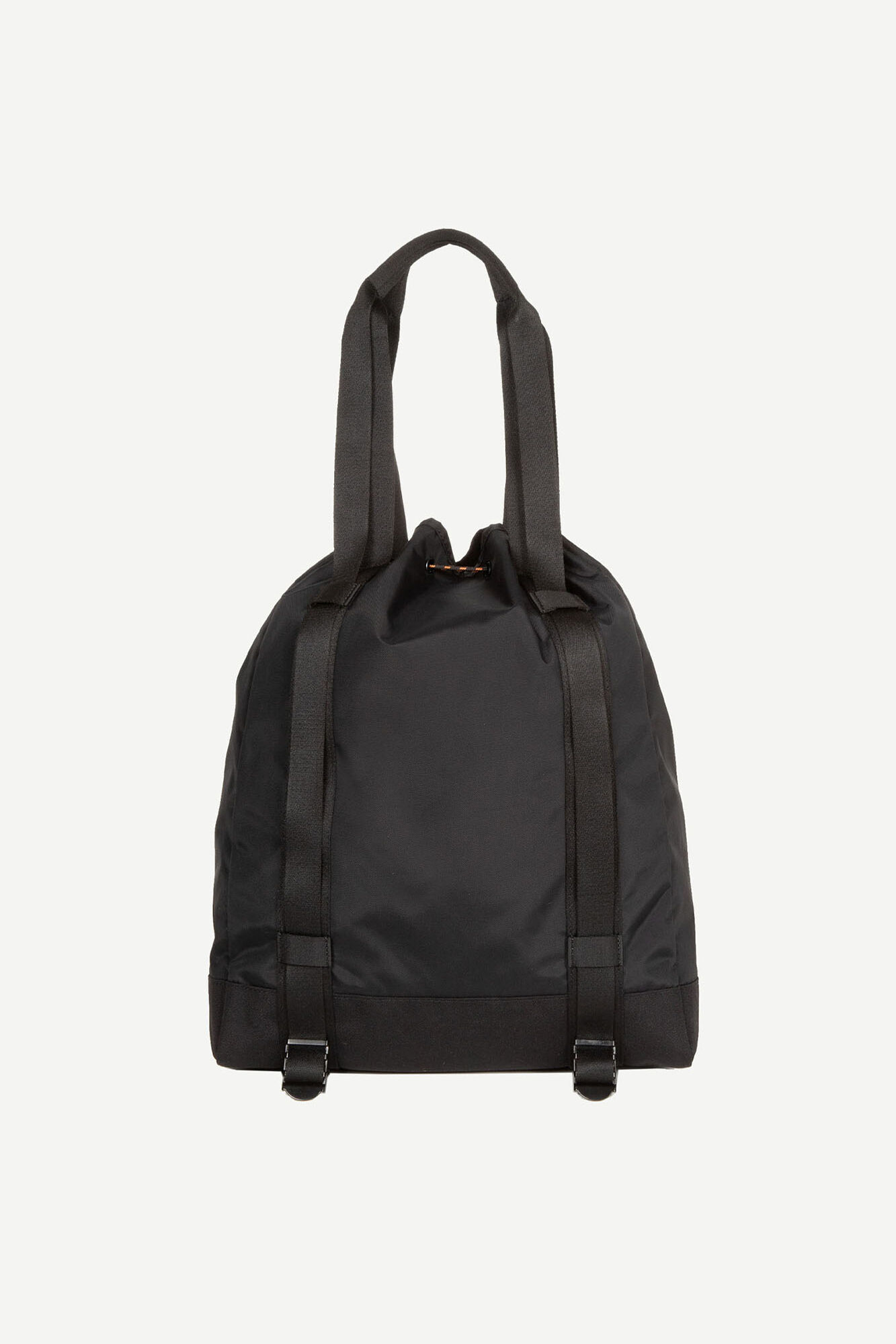 E Tote Bag 13052, BLACK