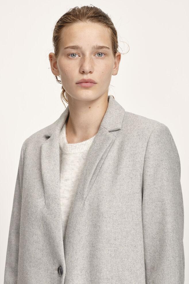 Kahlia jacket 3644, LIGHT GREY MEL.