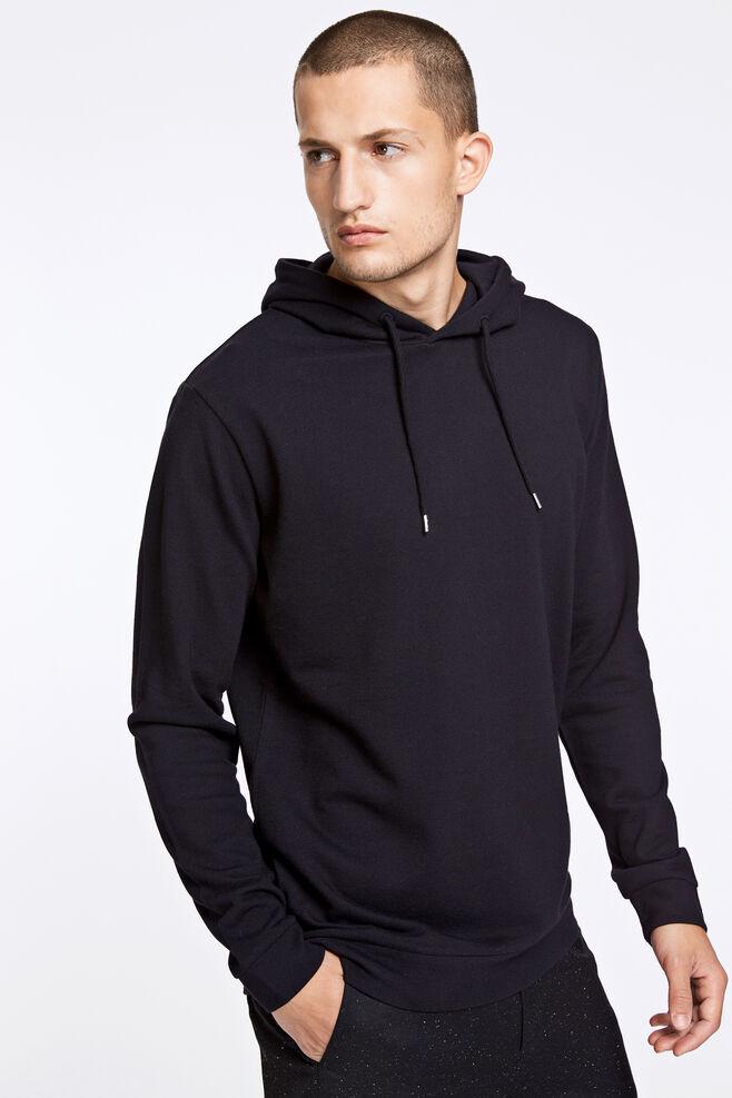 Enno hoodie ls 7057, BLACK