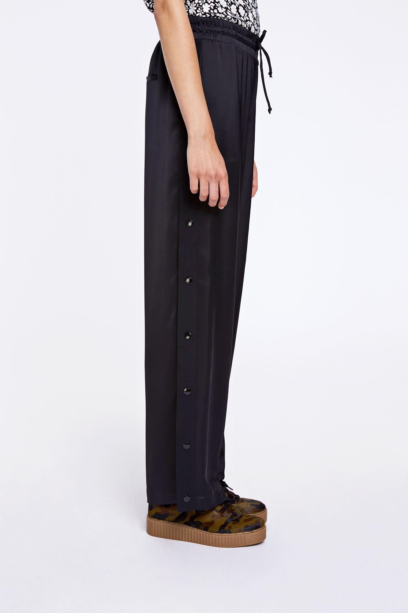 Lara pants 8322, BLACK