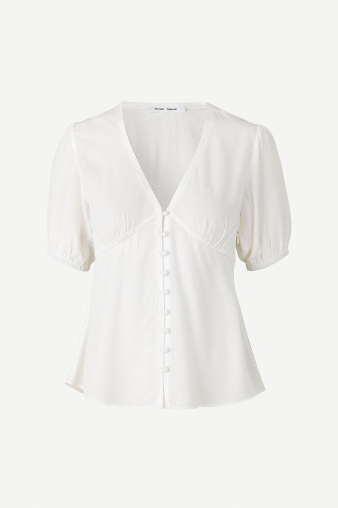 Petunia ss blouse 10056, CLEAR CREAM