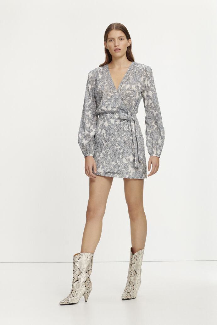 Josefia short dress aop 11453, TAPESTRY