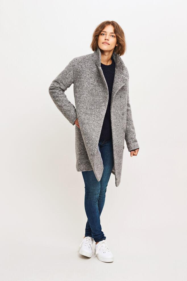 Mildred jacket 7210, GREY MEL.