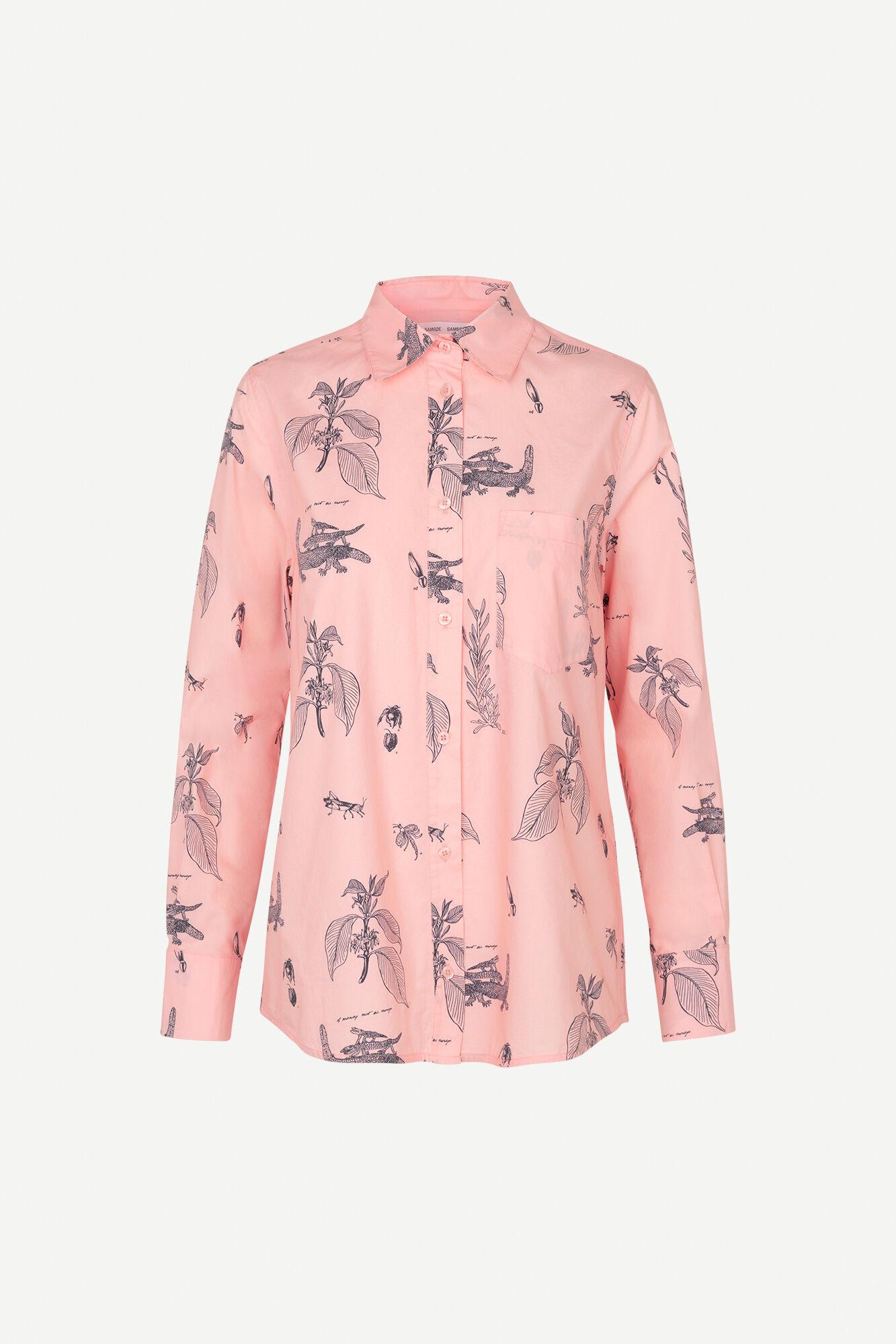 Natalie shirt aop 11332, POWDER BAGATHI