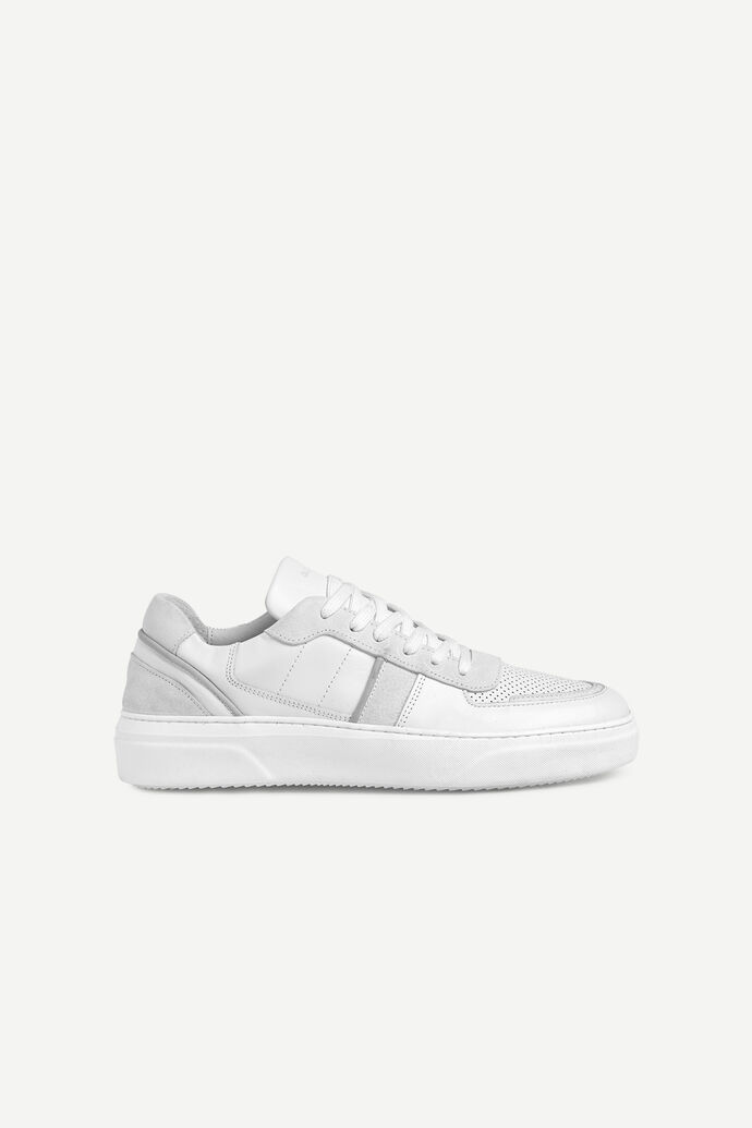 Becker sneaker mix 11399, WHITE
