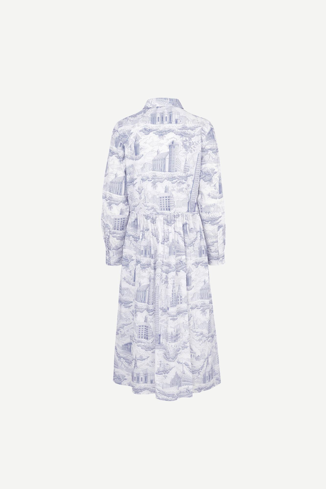 Eli shirt dress aop 11332