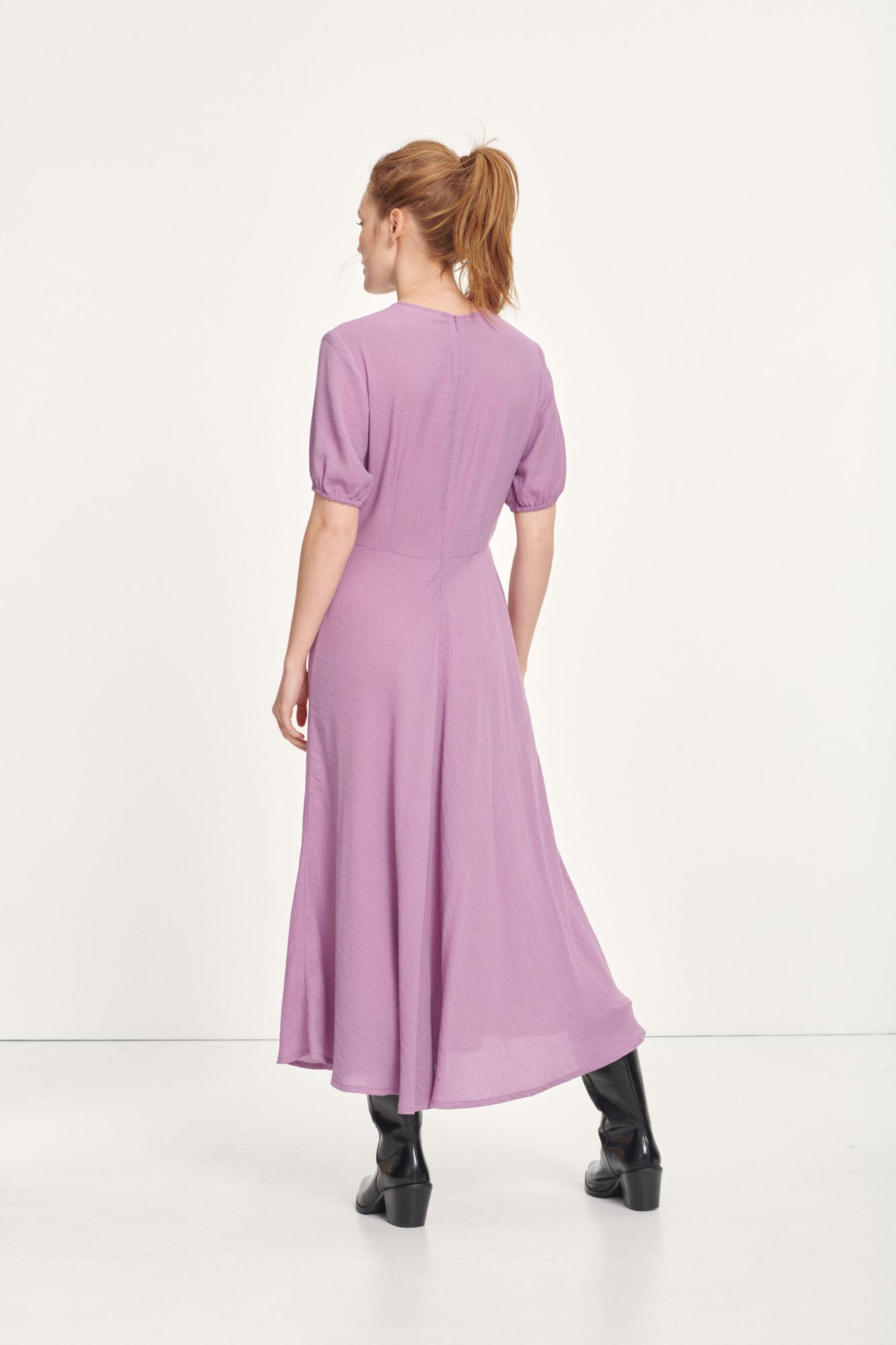 Decora dress 12893, PURPLE JASPER