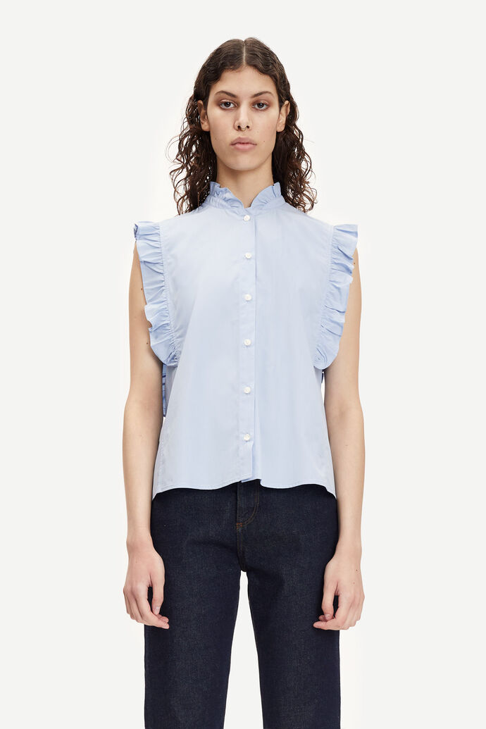 Marthy shirt top 11466, BRUNNERA BLUE