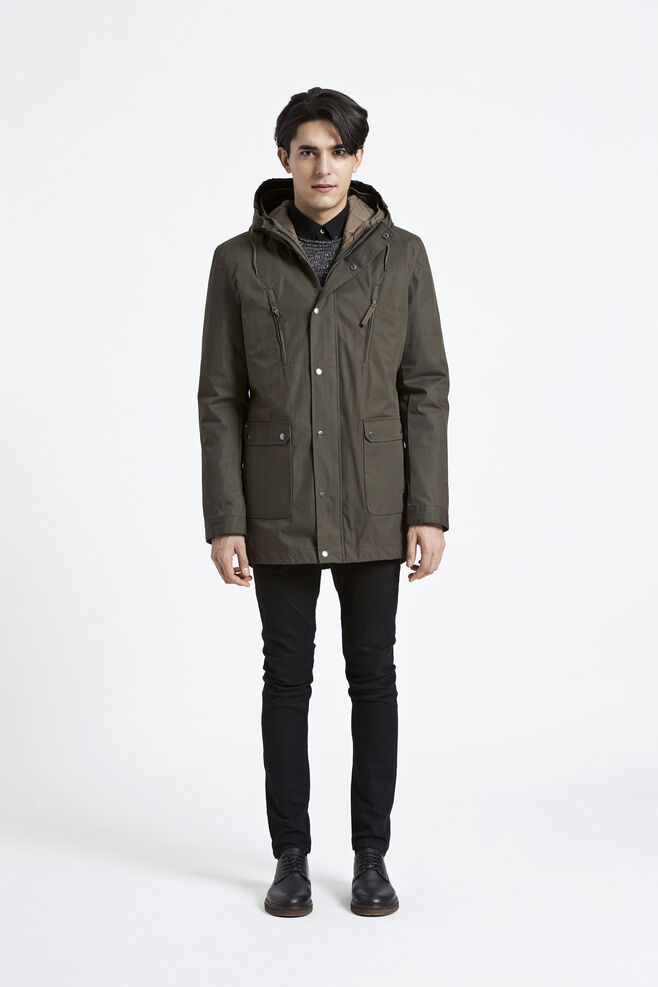 Beaufort jacket 3955, FOREST NIGHT
