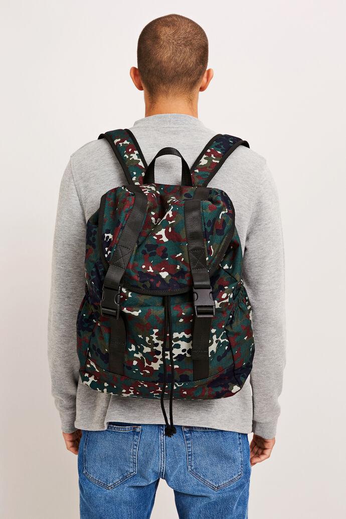 Cicero backpack aop 9452, PLUM DOTCAMO AOP