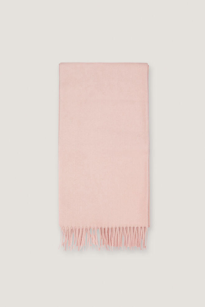 Accola maxi scarf 2862, SILVER PINK