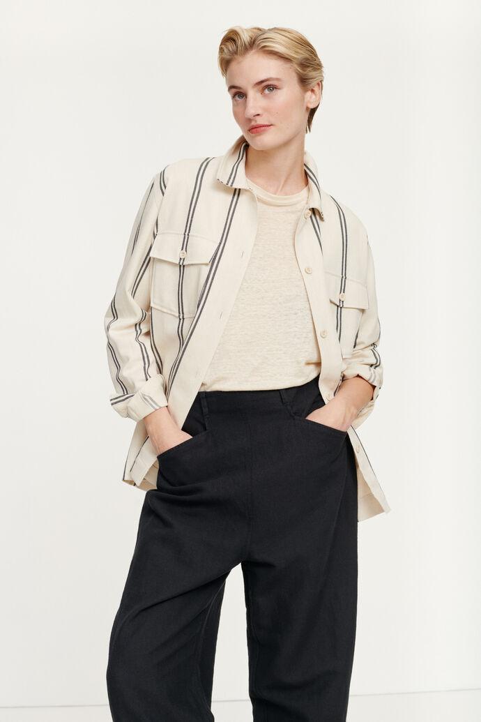 Lulla shirt 12692, WARM WHITE ST.