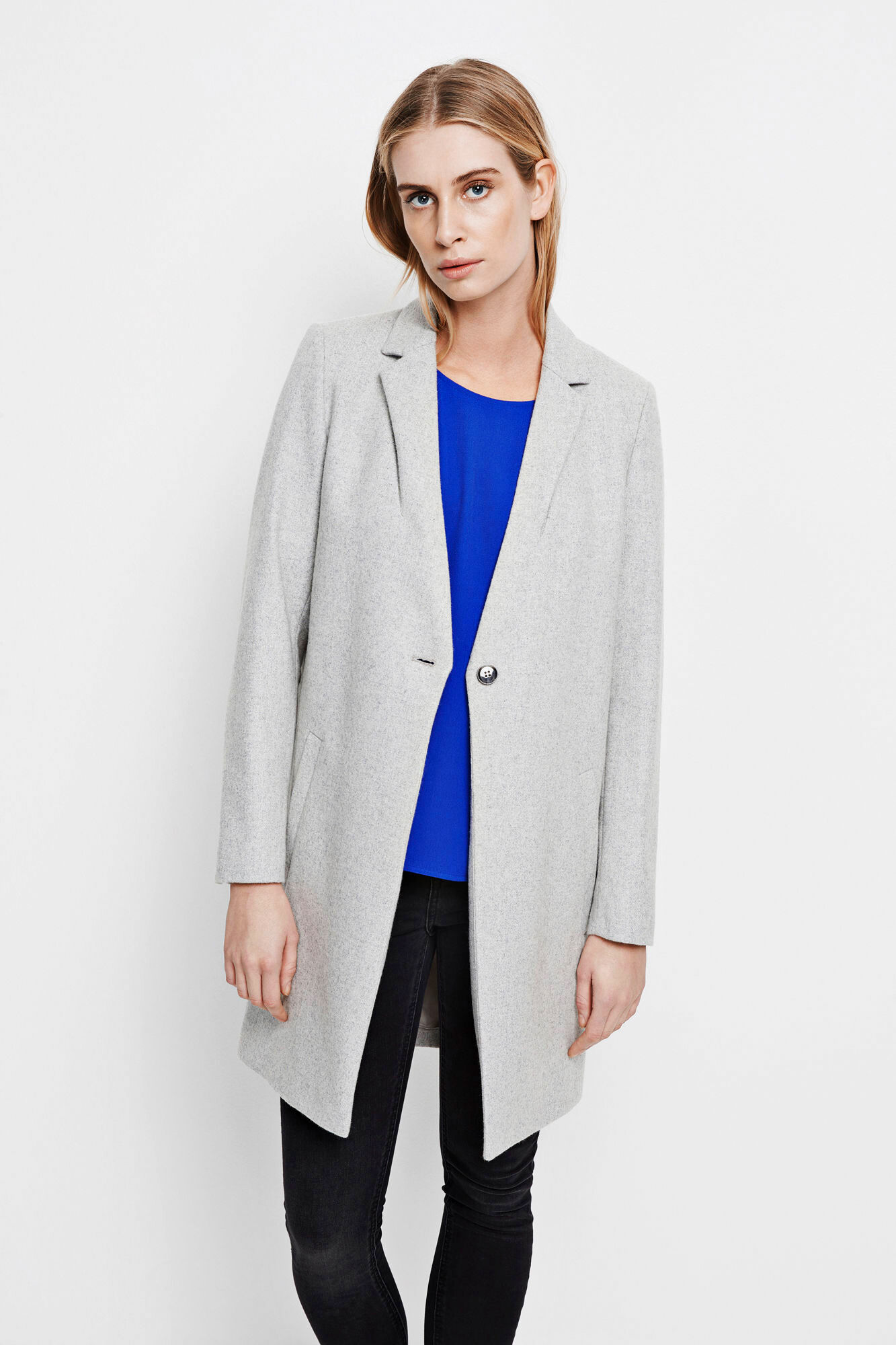 Kahlia jacket 3644, LIGHT GREY MEL.