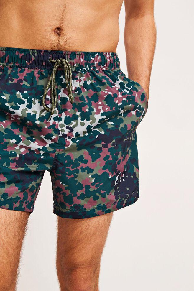 Mason swim shorts aop 6956, PLUM DOTCAMO AOP