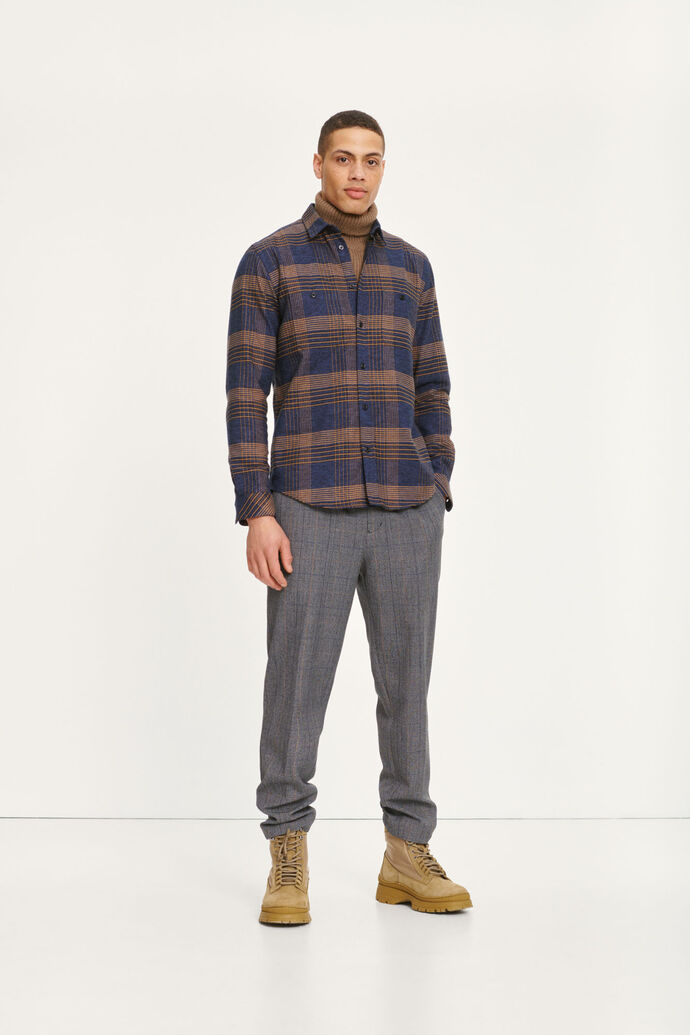 Agnar trousers 12809, GREY MEL CH.