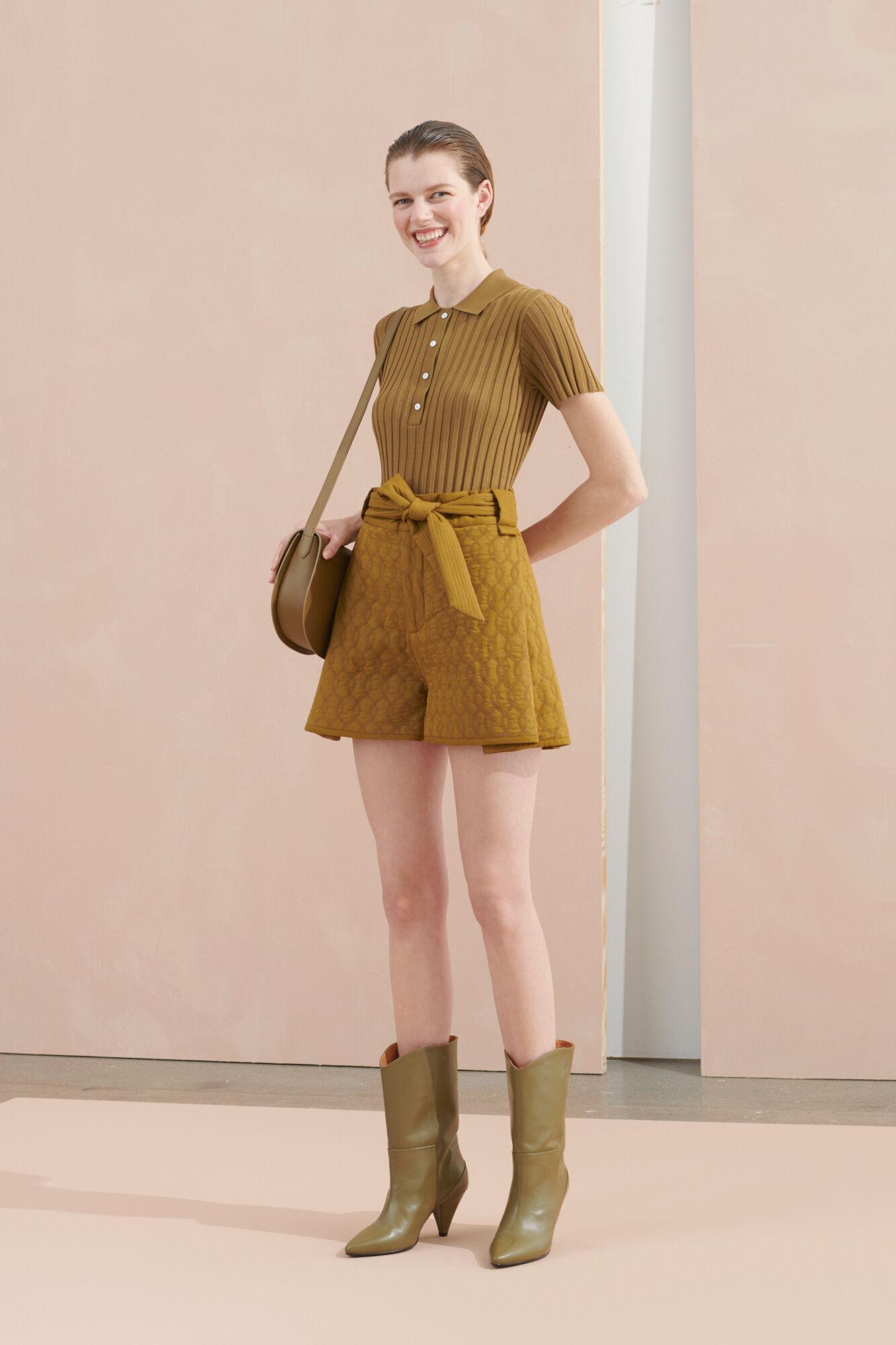 Joseline shorts 11453, GREEN KHAKI