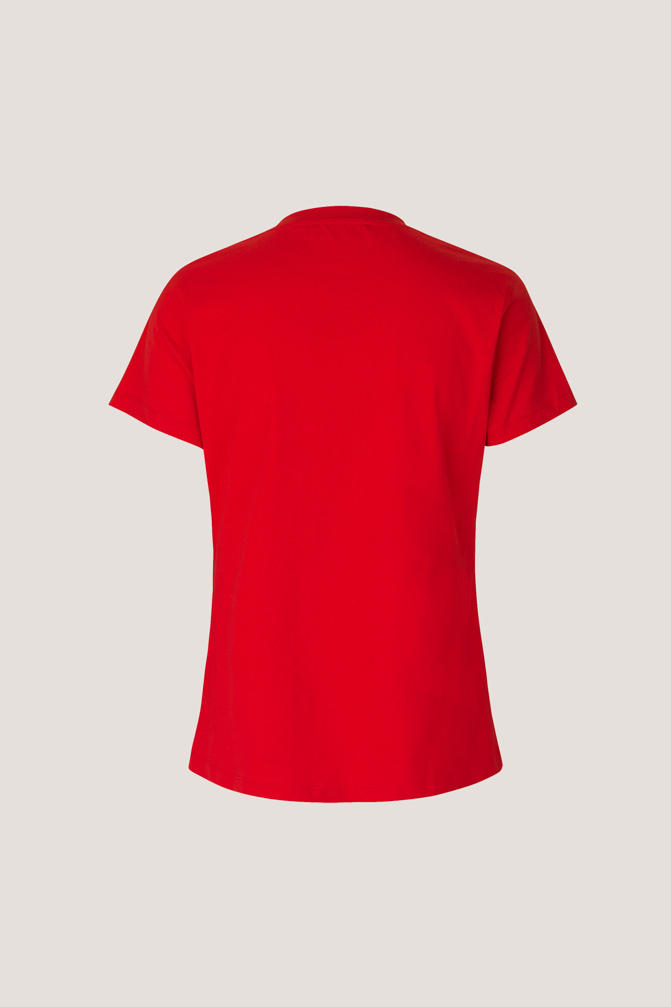 Solly tee solid 205, RACING RED