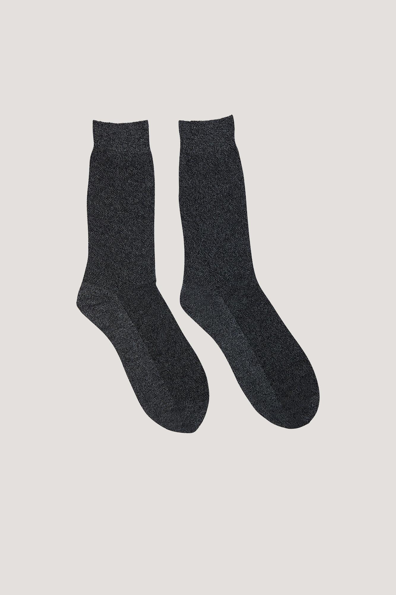 Step socks 7106, GREY MEL.