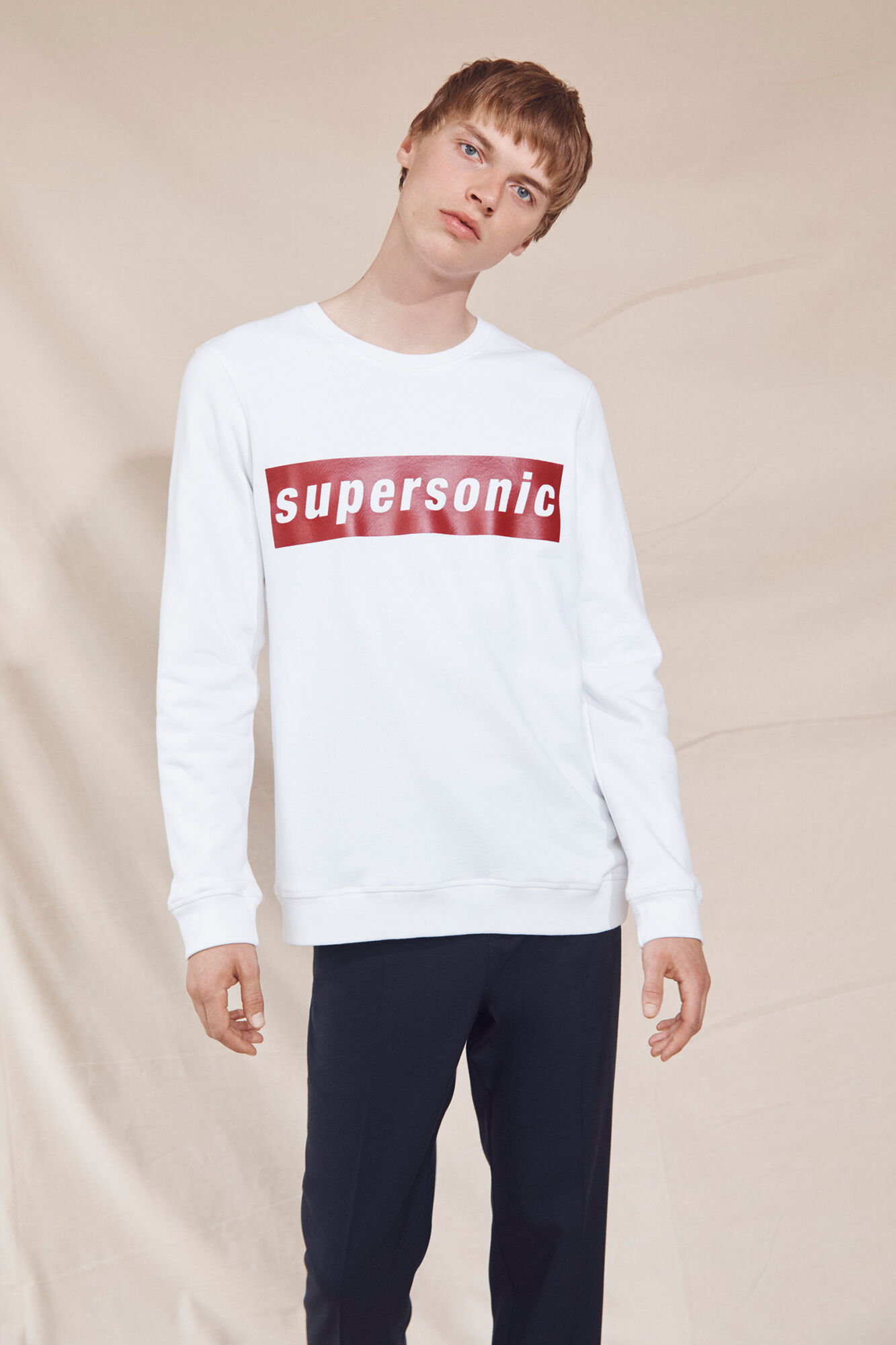 Supersonic o-n ls 9461, WHITE