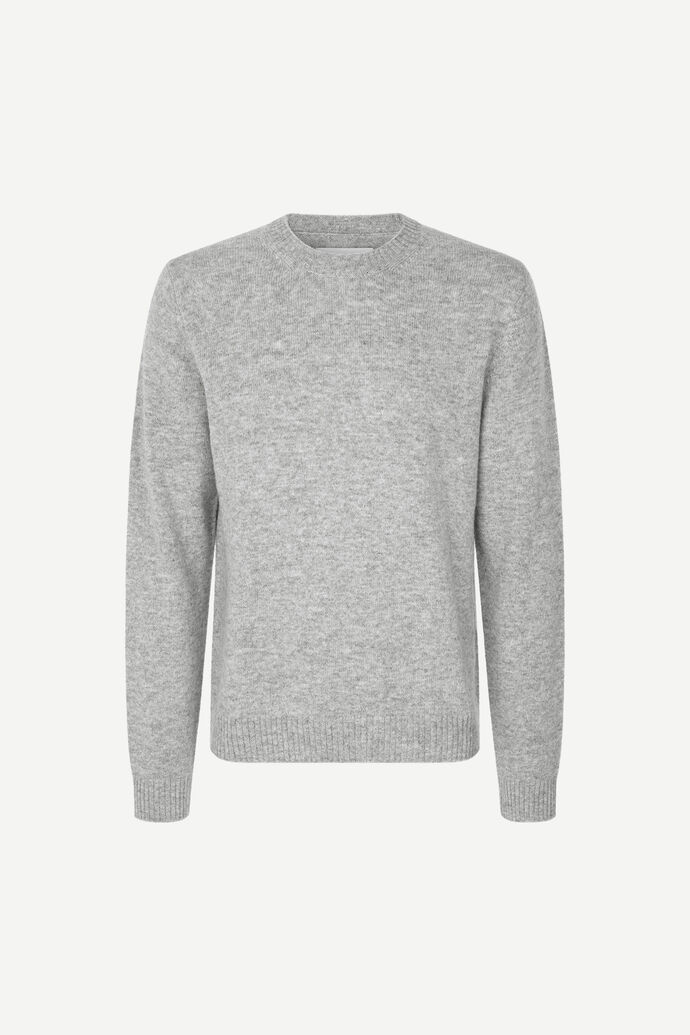 Sylli crew neck 132, GREY MEL.