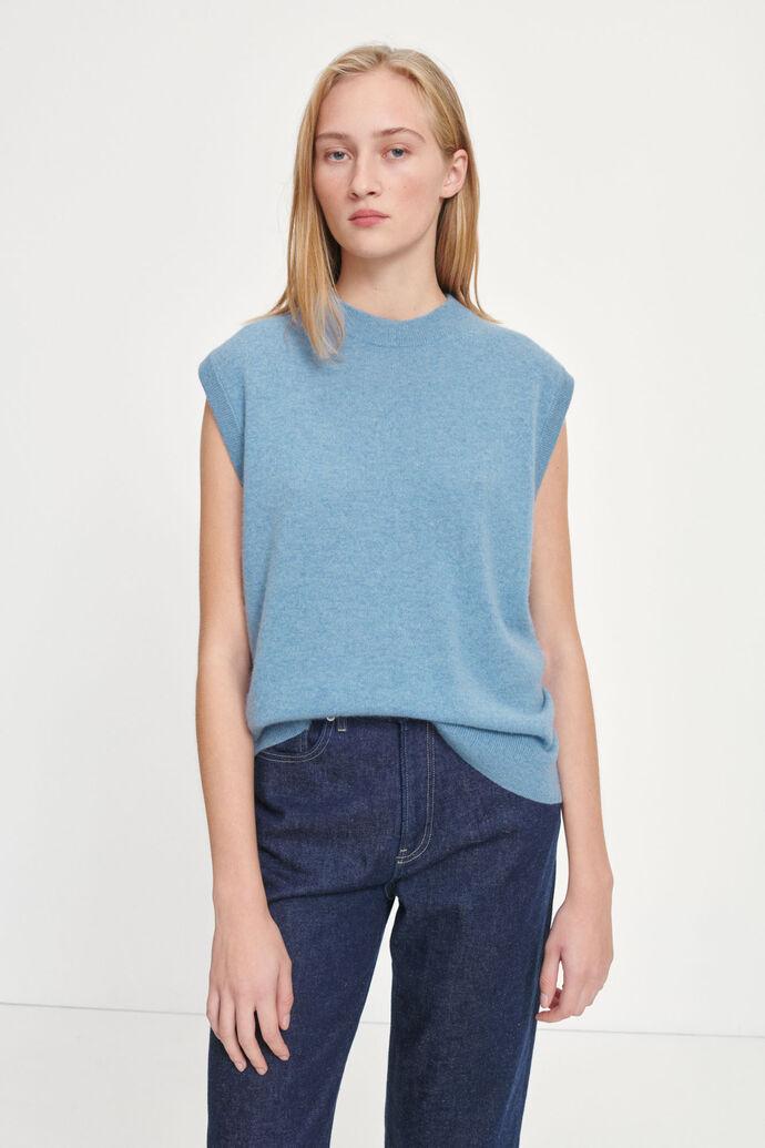 Nola vest 6304, DUSTY BLUE