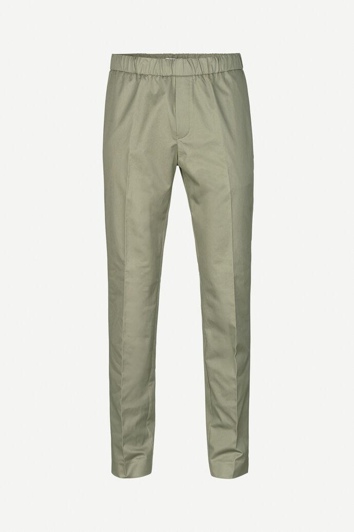 Laurent casual trousers 10625, DEEP LICHEN GREEN