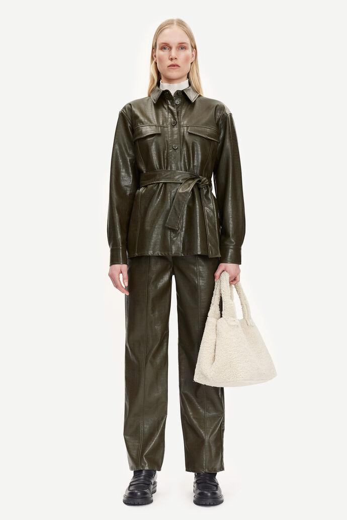 Novah trousers 13178, DARK OLIVE numéro d'image 2