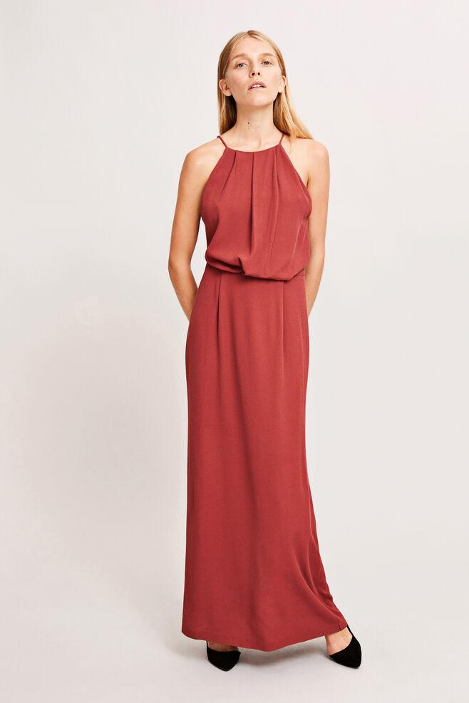 Willow dress long 5687, APPLE BUTTER