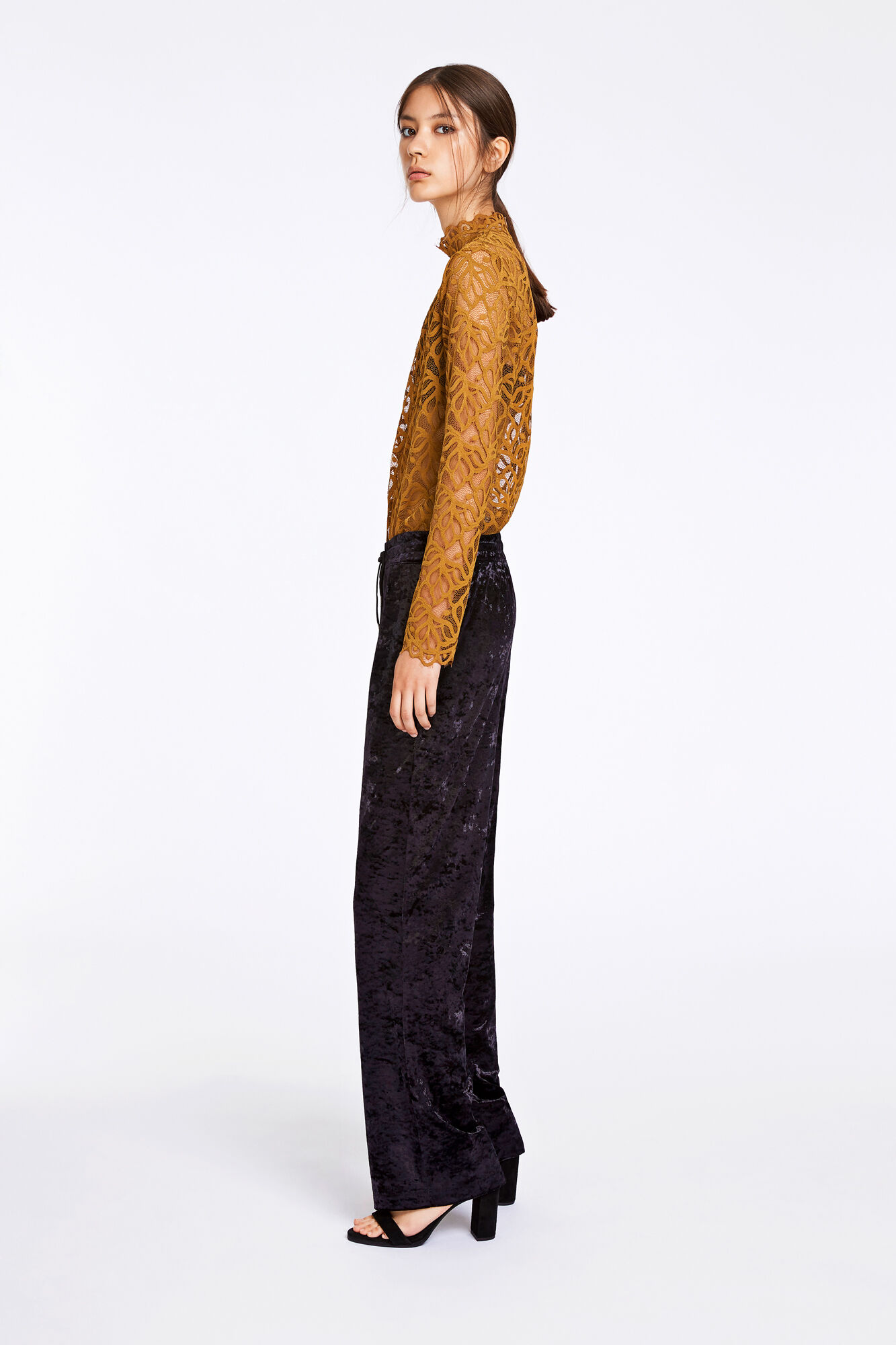 Sinead pants 9557, BLACK