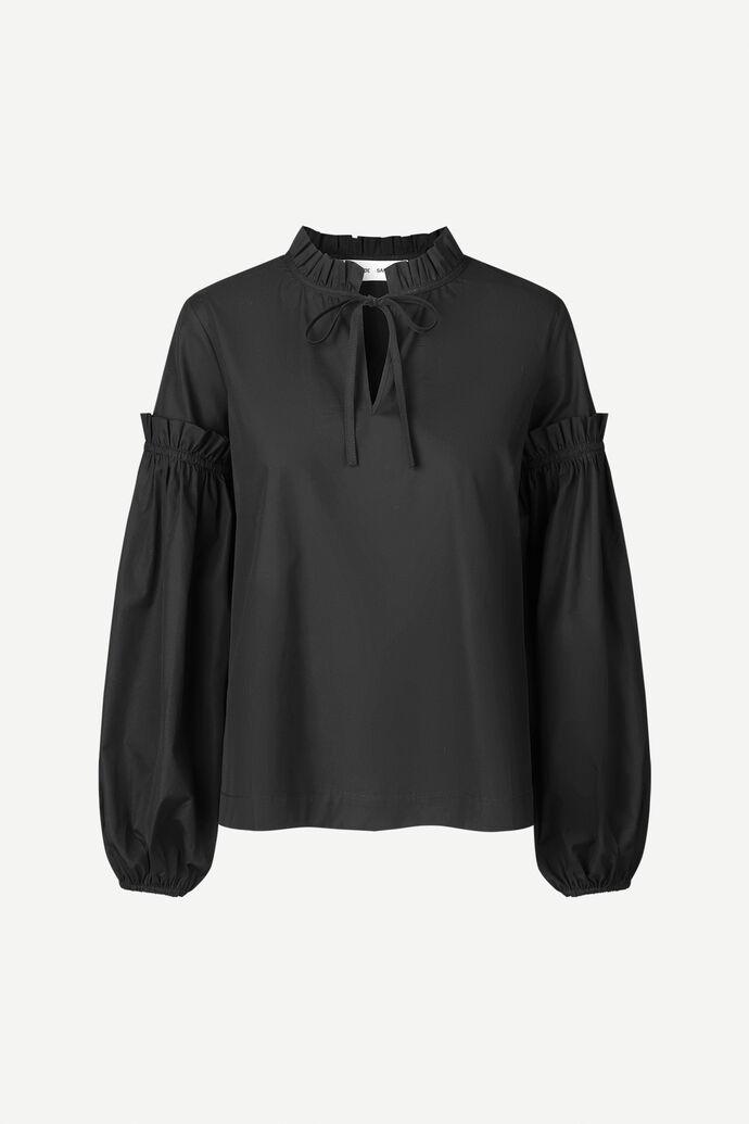 Maia shirt 11468, BLACK
