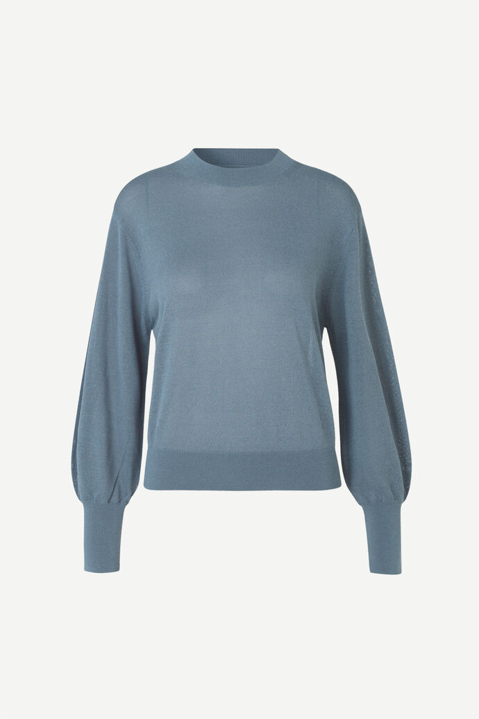 Dida mock neck 5812, BLUE MIRAGE