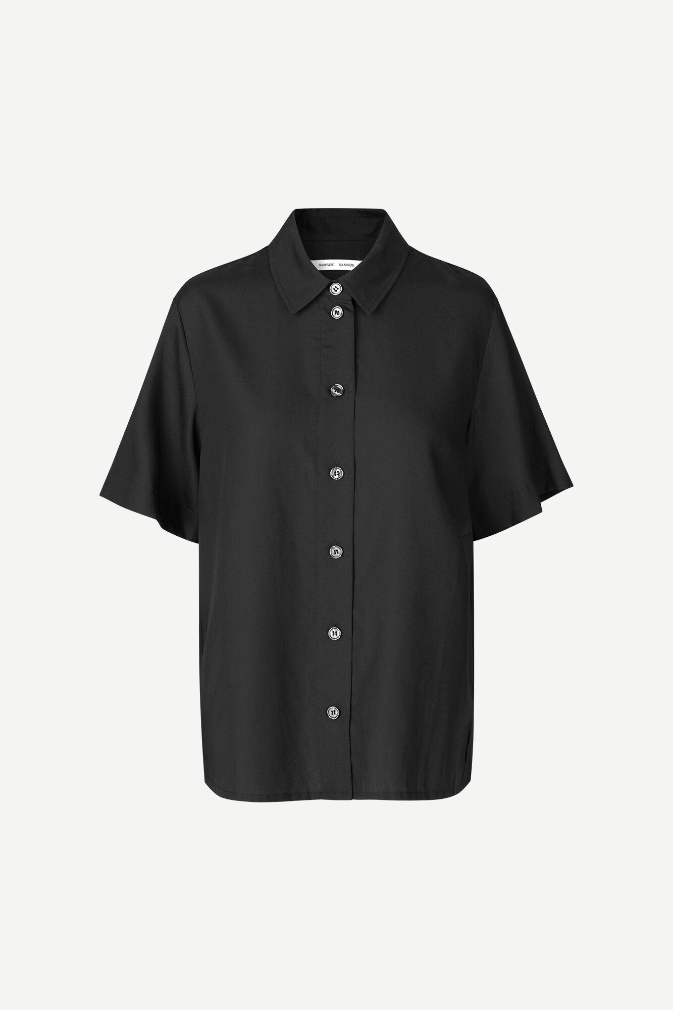 Bansa ss shirt 14020, BLACK