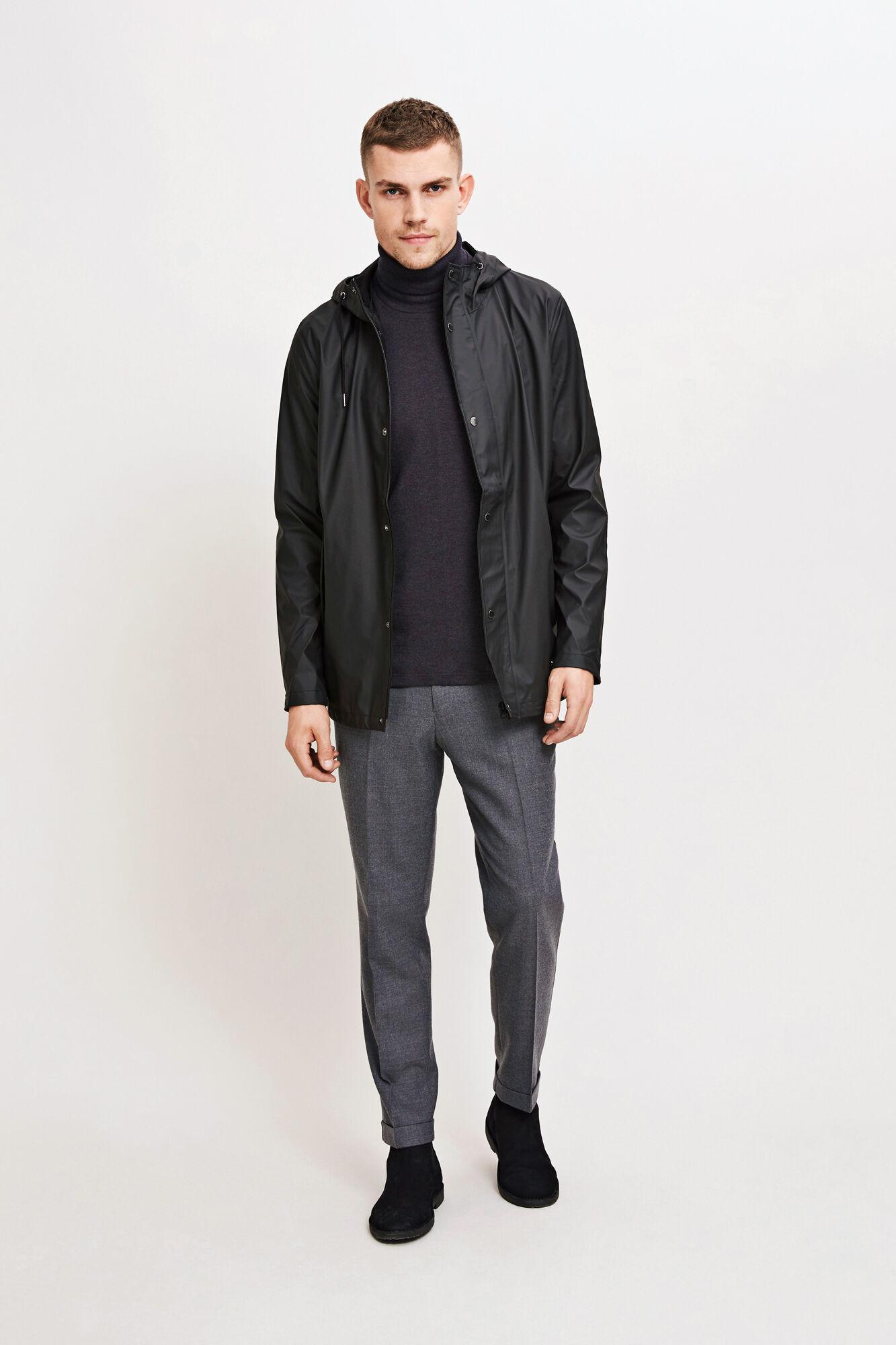 Drop jacket 7357, BLACK