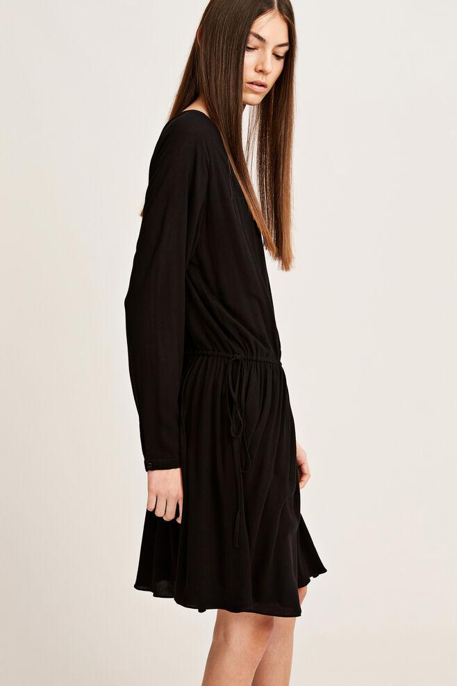 Maid ls dress 7201, BLACK