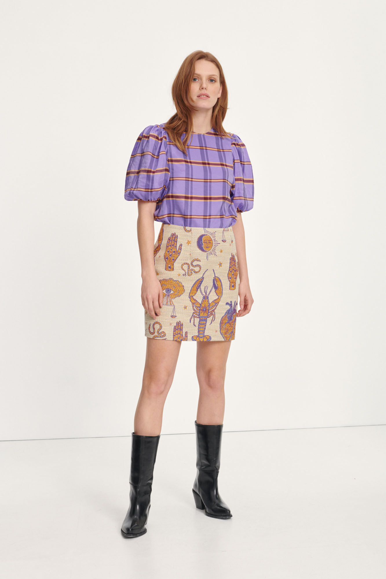 Dicte skirt 12849, TAROT TAPESTRY