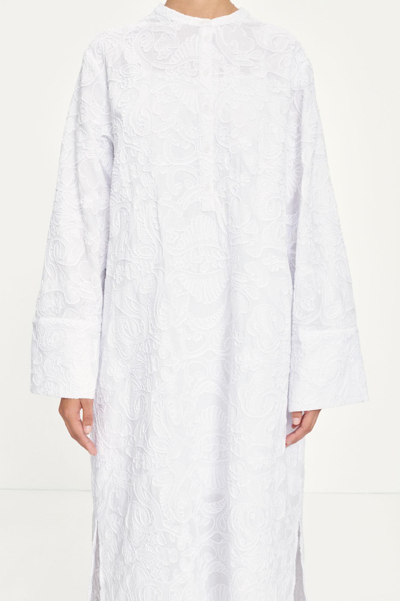 Jute shirt dress 13089
