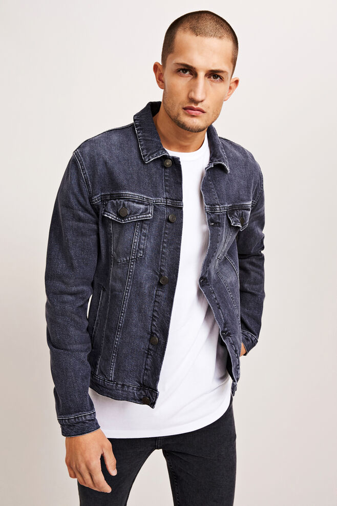 Laust jacket 9850, BLACK ROCK