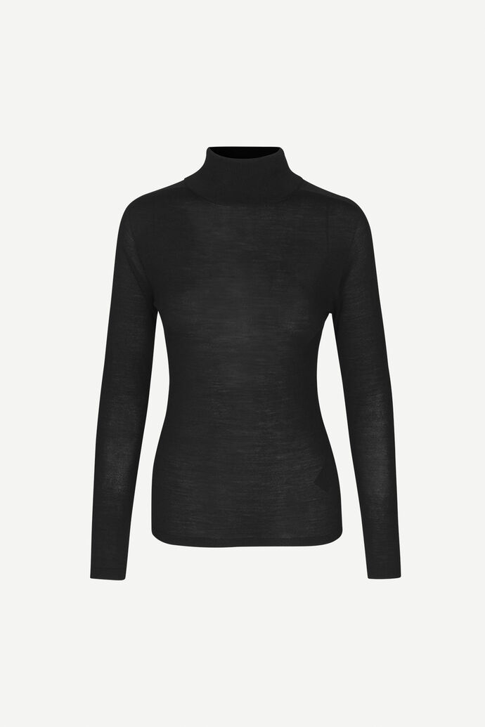 Jennifer turtleneck 12928, BLACK