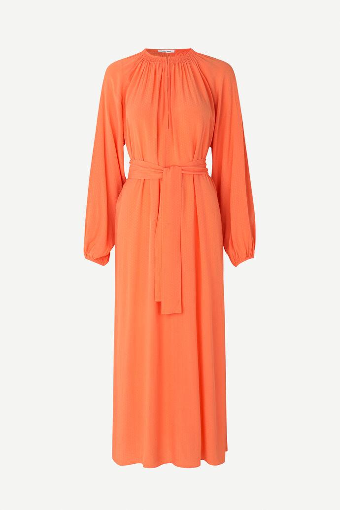 Kaia long dress 10458, BRIGHT CORAL
