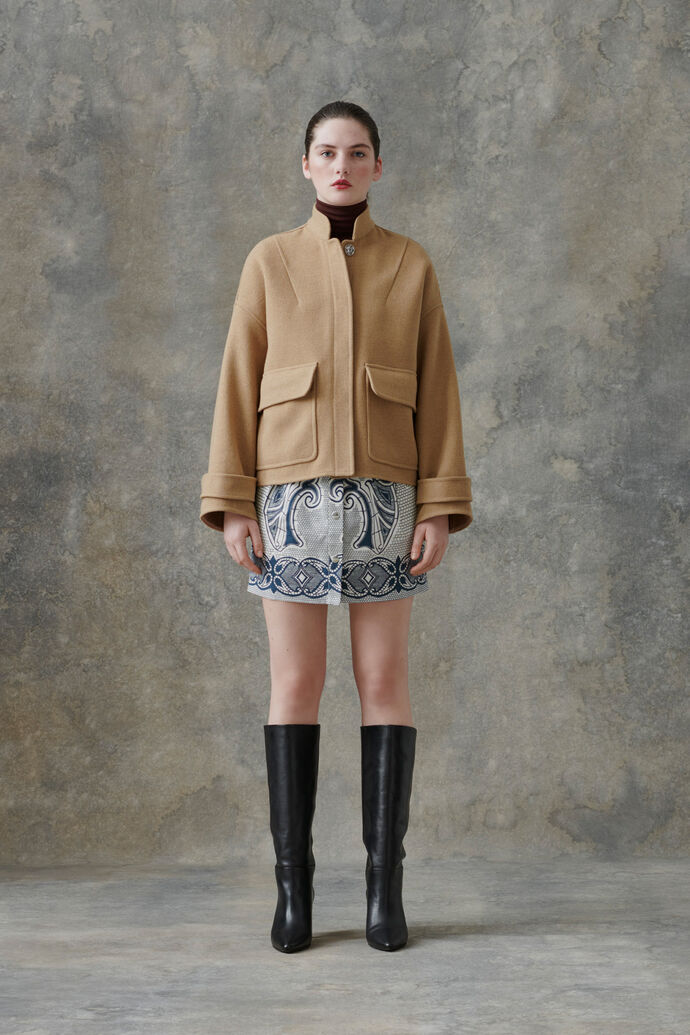 Zira jacket 12844, CAMEL