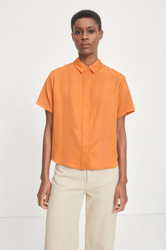Mina ss shirt 14028, GOLDEN OCHRE