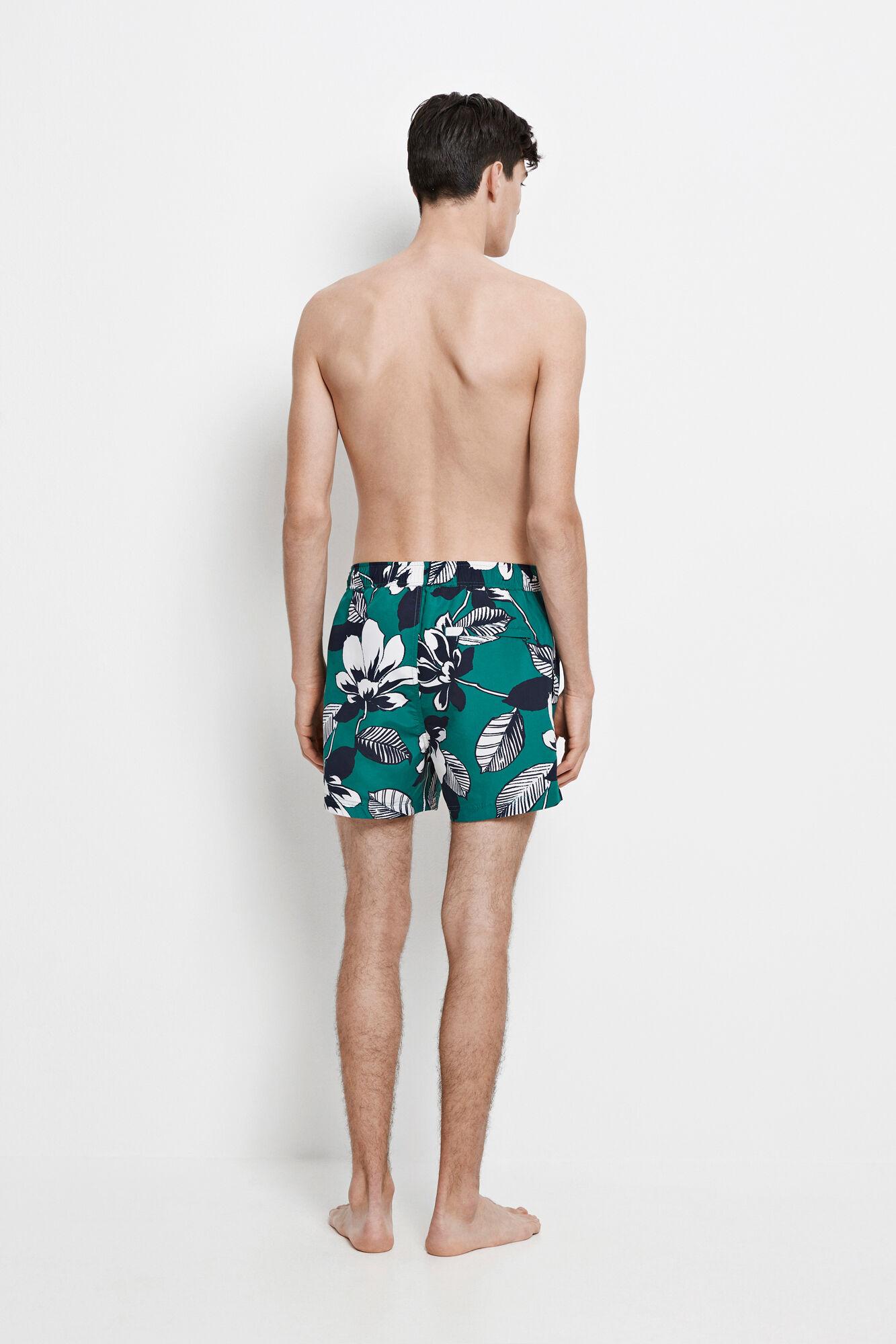 Mason swim shorts aop 6956, GREEN MAUI AOP