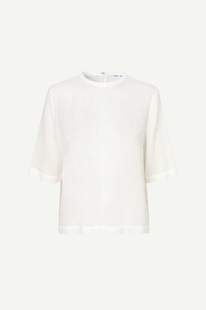 Isabel blouse ss 11156, CLEAR CREAM