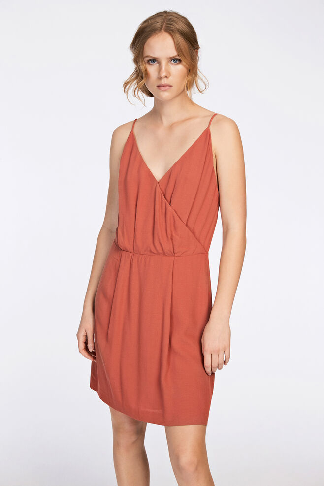 Ginni s dress 6515, LIGHT MAHOGANY