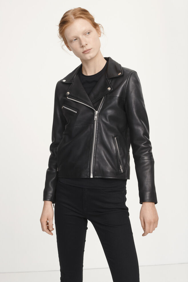 fa953dc9 Leather jacket - Women's Store | Samsøe & Samsøe®